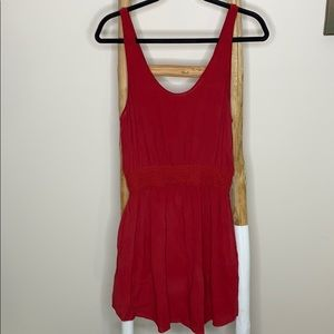 Aritzia red dress
